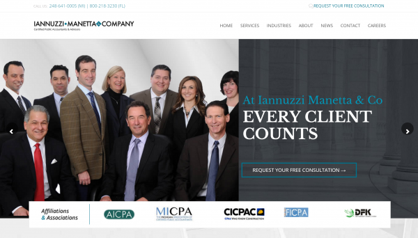 Website Content for Accounting Firm