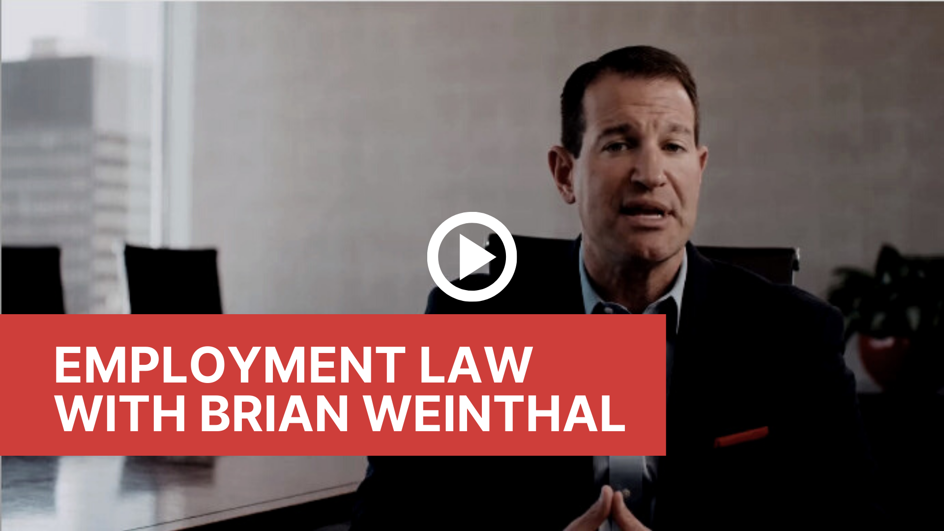 employment law with brian weinthal